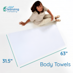 Cleanzing Bath Towels (2 pieces)